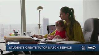 Students create online tutoring match service