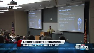 Run, hide, fight: Tucson Police hosts active shooter training