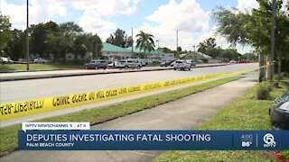 Palm Beach County deputies investigate deadly shooting on Forest Hill Boulevard
