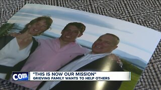 Grieving family wants to help others