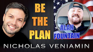 Alan Fountain Discusses Be The Plan with Nicholas Veniamin