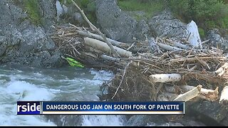 Dangerous conditions on Payette River