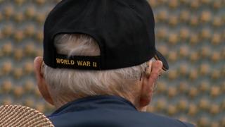 Honor Flight veterans visit WWII Memorial in Washington D.C.