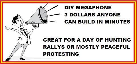 THE THREE DOLLAR MEGAPHONE