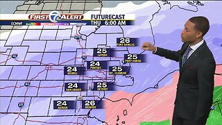 Winter weather on the way for metro Detroit with measurable snowfall