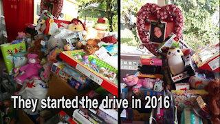 Aranda Family local toy drive