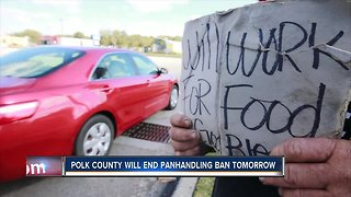 Polk County Commissioners to repeal panhandling ordinance