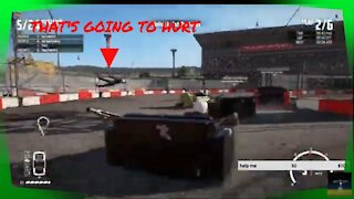 WRECKFEST COUCH RACING