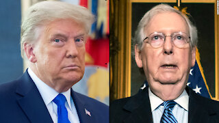 Trump fights back against McConnell, cold weather causes massive blackouts.