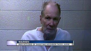 Man accused of shooting neighbor in Warren faces judge