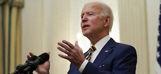 President Biden pushes for a mid March stimulus check
