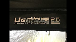 Indoor Grow Tent. Lighthouse 2.0 Growing Food Indoors for the winter