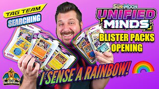 Unified Minds Blister Packs | Tag Team Searching | Pokemon Cards Opening