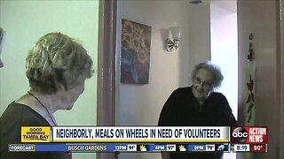 Neighborly, Meals on Wheels volunteers needed