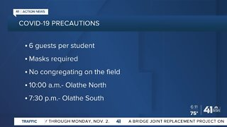 Olathe holds in-person graduation