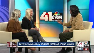 Taste of Compassion benefits pregnant young women