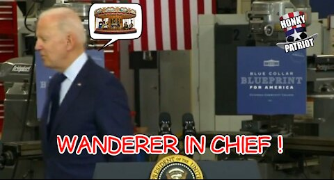JOE BIDEN WANDERS AWAY FROM PODIUM AND MORE GAFFES FROM MAY 27 IN CLEVELAND !