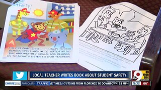 Teacher writes book about student safety