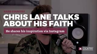 Chris Lane talks about his faith   Rare Country