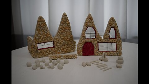 Winter Fairy Garden - Bakery Part 1