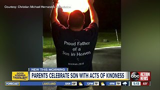 Riverview couple turns family tragedy into worldwide call for kindness