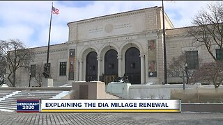 DIA asking for millage renewal in metro Detroit counties during primary election