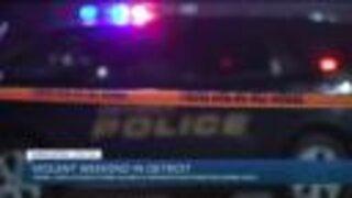 Violent weekend reported in Detroit
