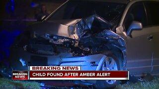 Child found safe after Amber Alert issued in Cleveland