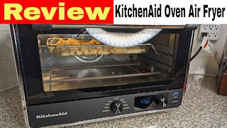 Kitchen Aid Countertop Toaster Oven with Air Fry Review