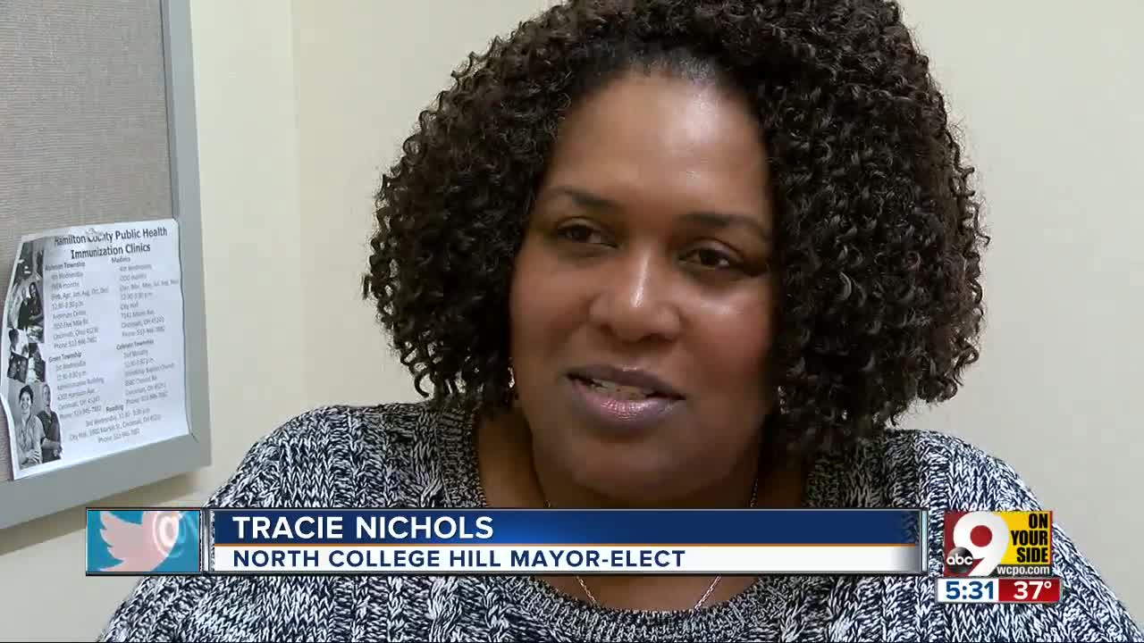 Tracie Nichols elected first African American mayor of North College Hill