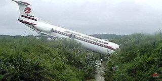 exact and tragic moments of plane crash