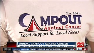 6th annual Campout Against Cancer