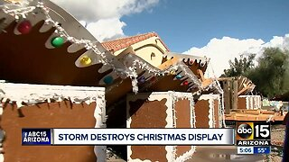 Scottsdale brothers rebuilding Christmas display after winter storm