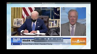 Mark Meadows - Joe Biden policy is controlled by progressive left