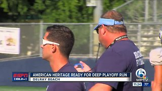American Heritage Fighting for 1st Round Bye
