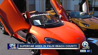 Supercar week in Palm Beach County