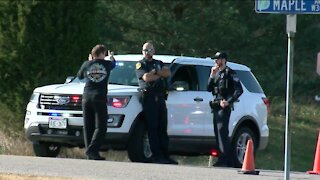 Suspect accused of shooting 2 police officers in Delafield now in custody, police say