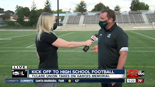 23ABC Sports: Live interview with Garces Memorial Head Football Coach Paul Golla ahead of the Rams' season opener
