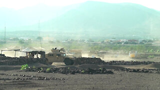 SFAB Live Fire Exercise with BIR