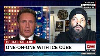 Chris Cuomo fails to flip Ice Cube