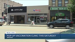 Pop-up vaccination site to open Saturday in Appleton