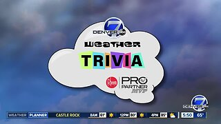 Weather trivia: First snowfalls by the year