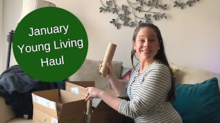 January 2021 Young Living Haul