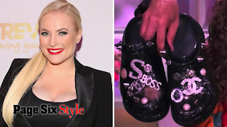 Meghan McCain wants bedazzled Crocs as a going-away gift from 'The View'