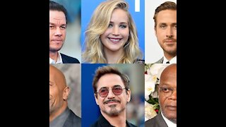 Most Highest paid actors in the world (2021)
