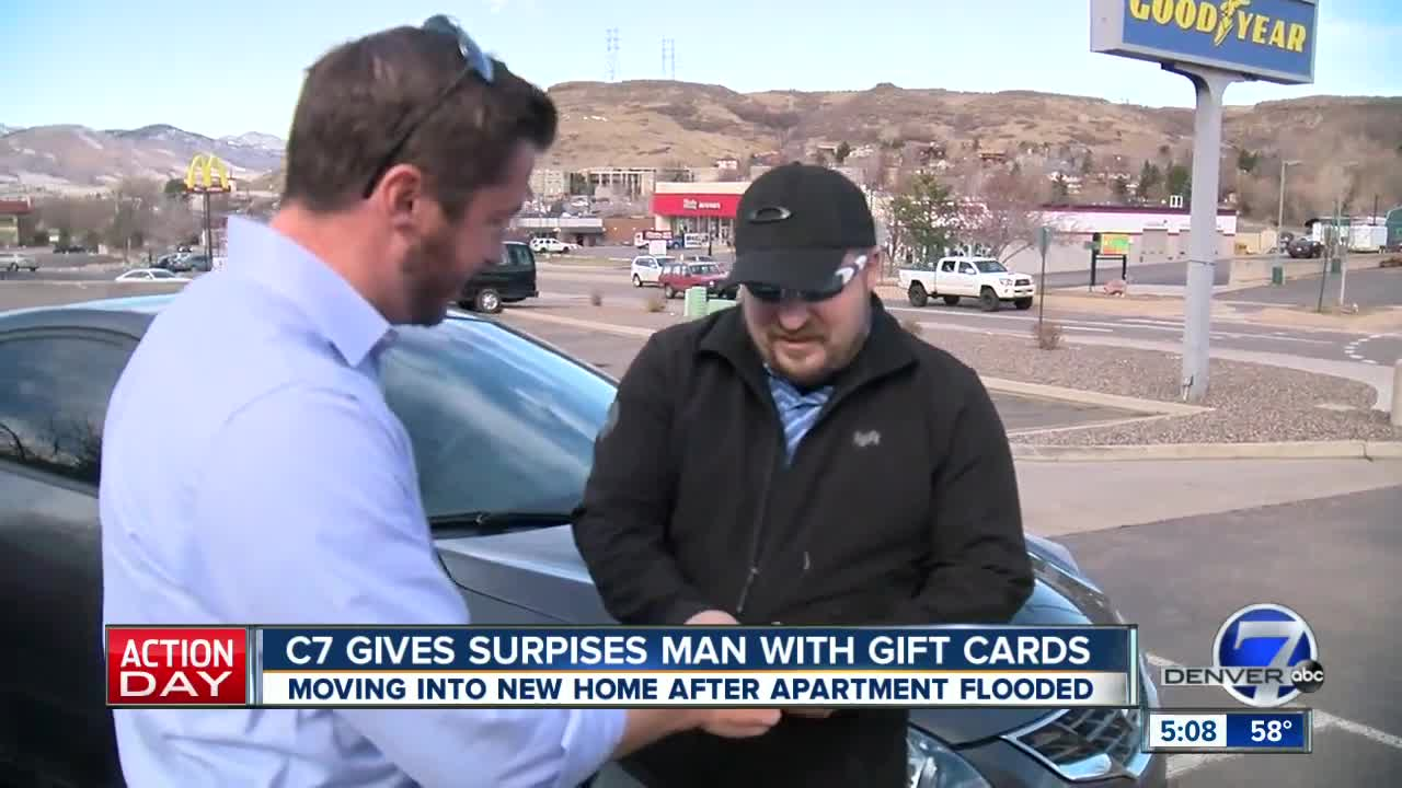 Denver7 viewers help Lakewood man once flooded out of apartment