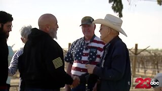 Wounded Heroes Fund helps World War II veteran celebrate his 96th birthday