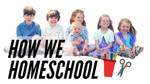 Homeschooling with 6 kids. We show you how we do it