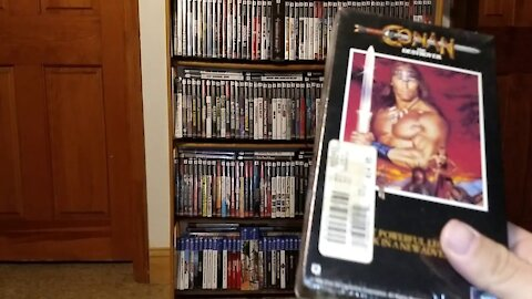 Conan The Destroyer - VHS Unboxing