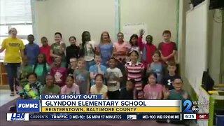 Good morning from Glyndon Elementary School!